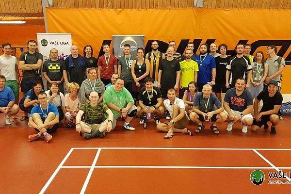 Badminton v menším počtu, ale s velkou parádou