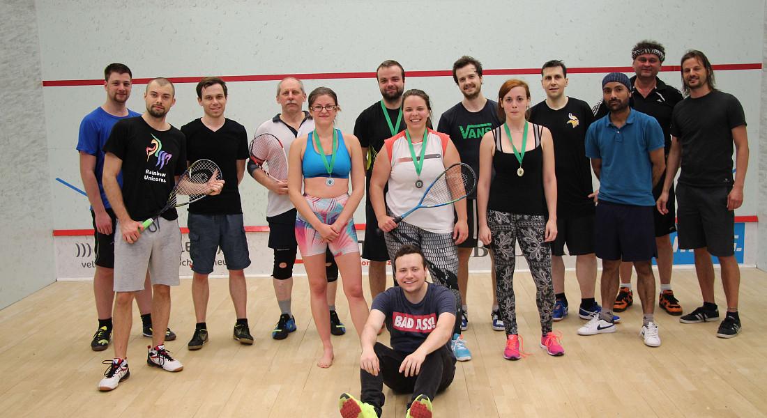 Squashový turnaj Brna - Začátečníci a středně pokročilí - 5 - ZRUŠENO
