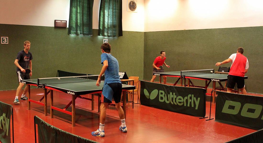 Zářijový pingpongový turnaj v Plzni