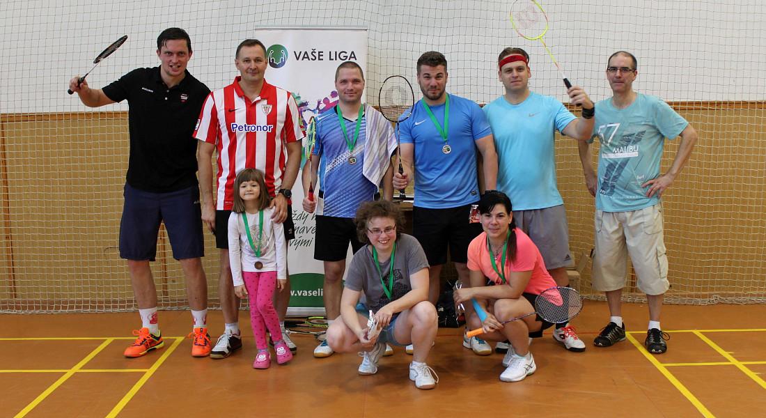 Podzimní badmintonový turnaj