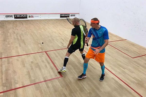 Sobotní squashový turnájek