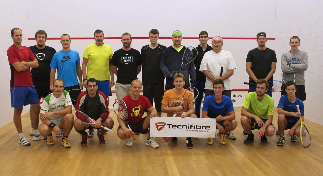 Plzeňský vánoční squashový turnaj
