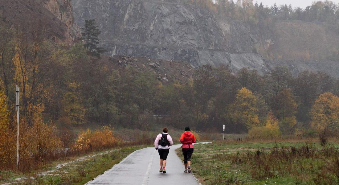 Nejhorší počasí, nejlepší běžci