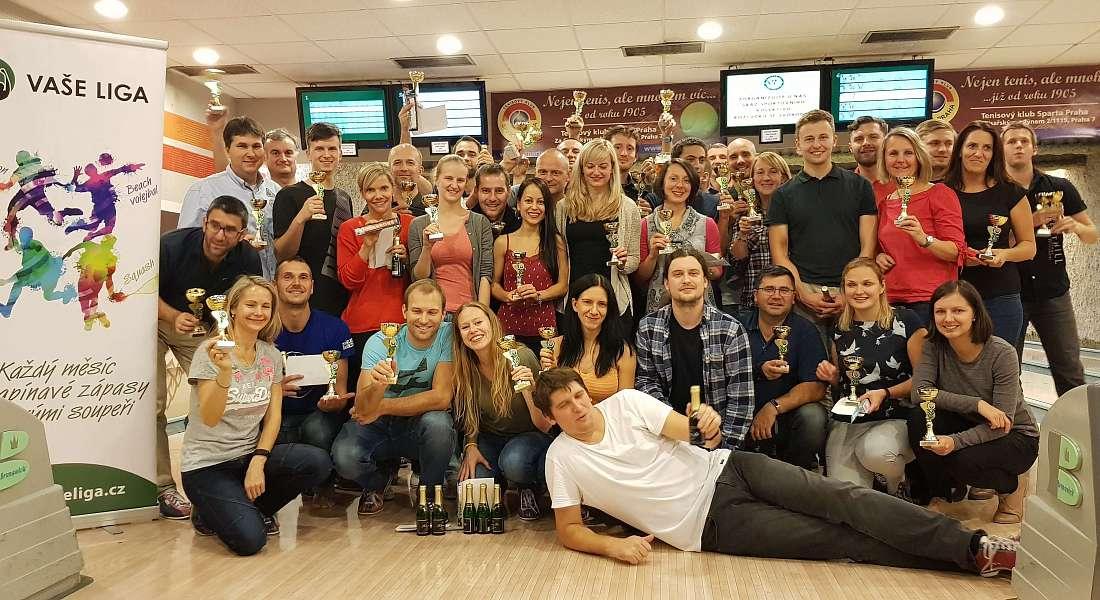 Nejlepší hráčky a hráči ročníku 2018 z Prahy slavili v Holešovicích