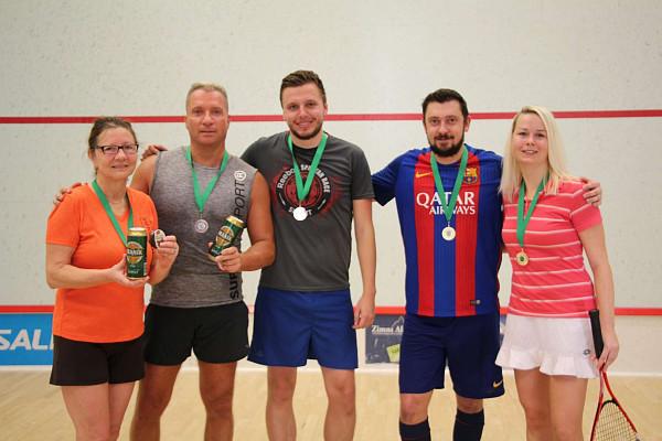 Poslední squashový turnaj roku 2018 vyhrál Michal