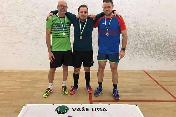Jak VAŠE LIGA squash team Déčko vysekalo