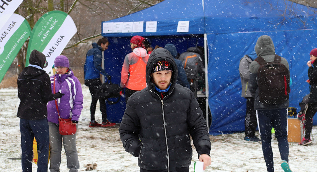 Krásný zimní běh