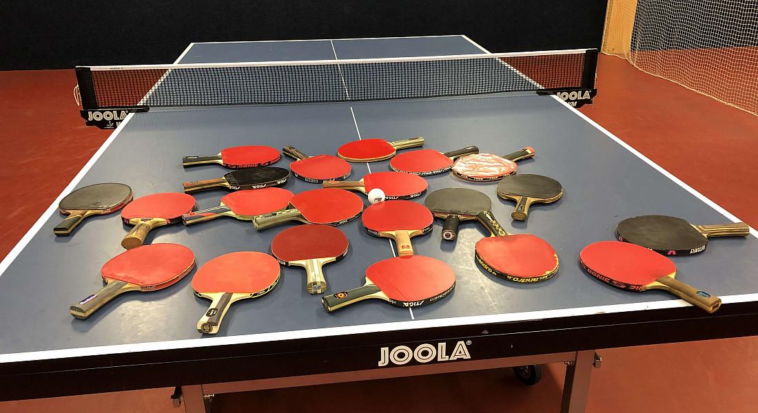 Pingpongový turnaj v Praze - Březen 2019