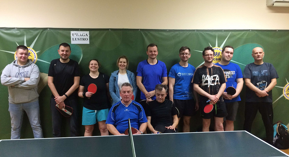 Turnieje tenisa stołowego - gramy co dwa tygodnie!