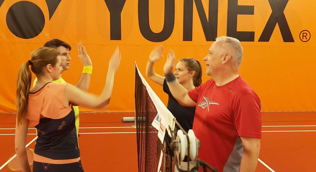 Vyhrál, kdo šel na badminton!