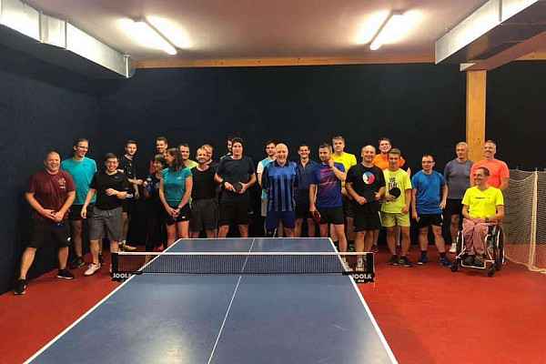 Pingpongový turnaj v Praze - Červenec 2019