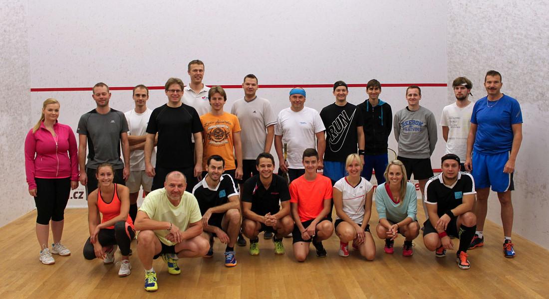 Říjnový squashový turnaj