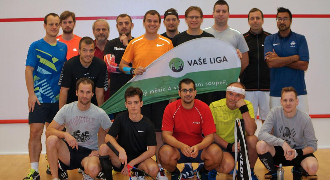 Squashový turnaj v Plzni - říjen 2021