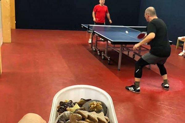 Pingpongový turnaj v Praze - Prosinec 2019