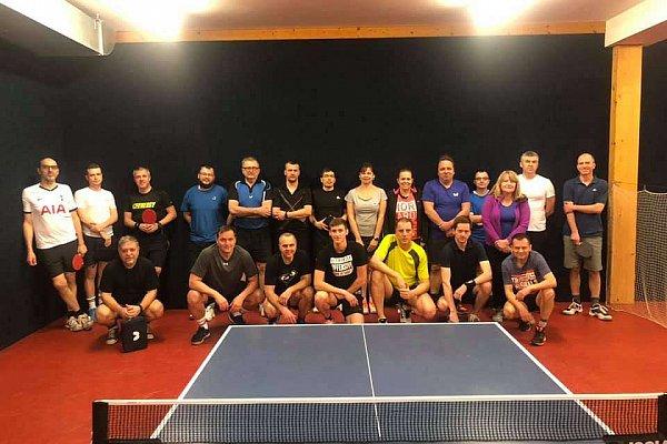 Pingpongový turnaj v Praze - Únor 2020