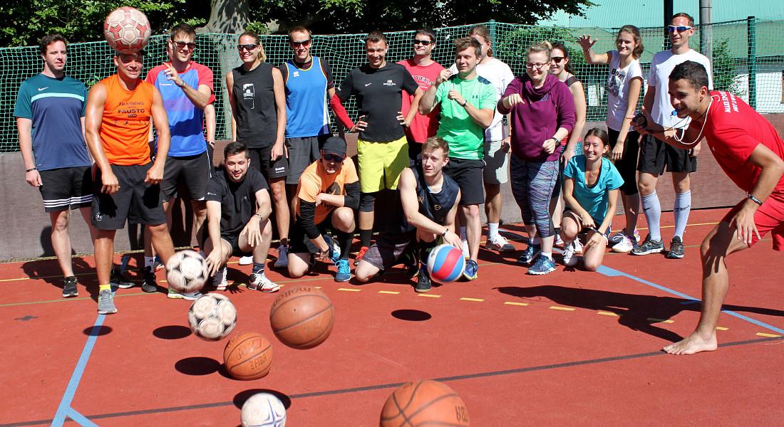 Sportkemp 2021: 3. den dopoledne (bufet)