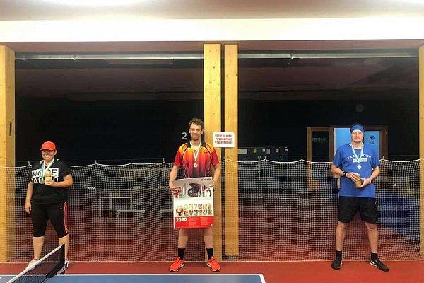 Pingpongový turnaj v Praze - Červen 2/2 2020