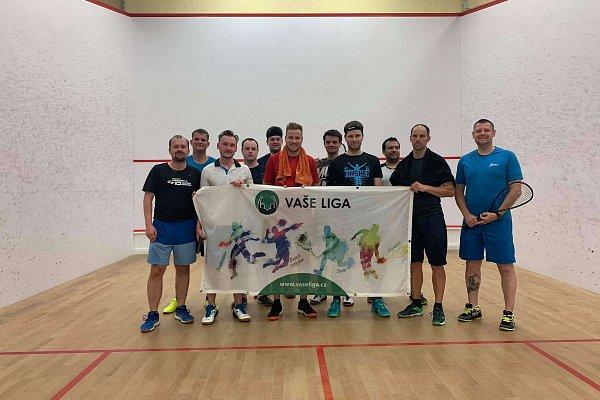Červnový squash turnaj VAŠÍ LIGY ve znamení spojených skupin