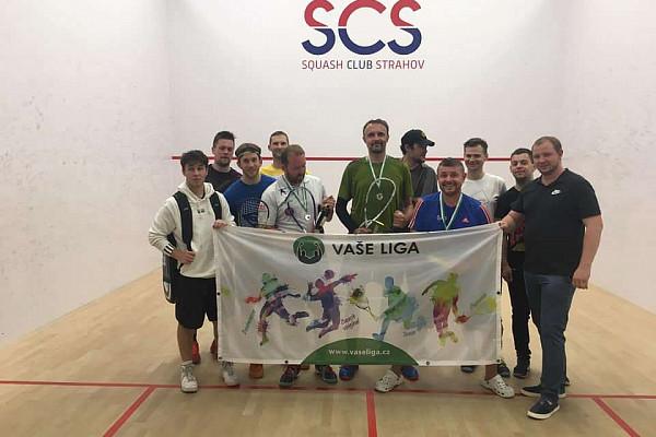 První Squash turnaj na roku 2020 na Strahově