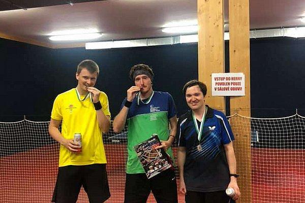 Pingpongový turnaj v Praze - Září 1/2 2020