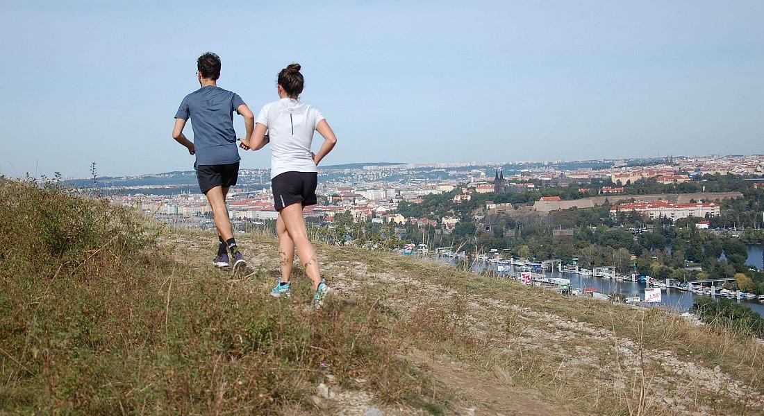 Nádherné běžecké výhledy