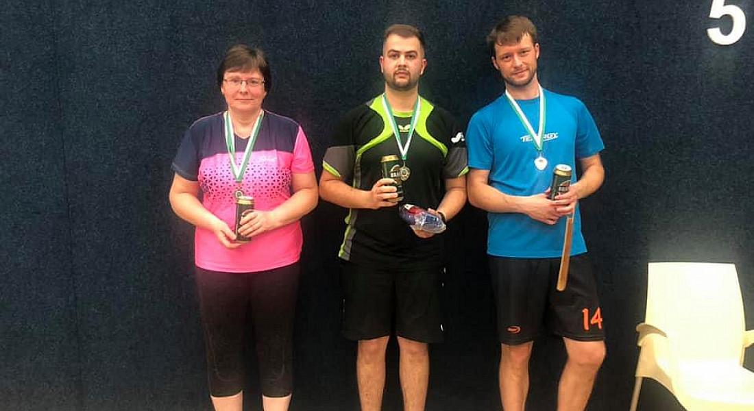 Pingpongový turnaj v Praze - červen 2021