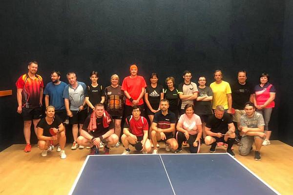 Pingpongový turnaj v Praze - červenec 2/2 2021
