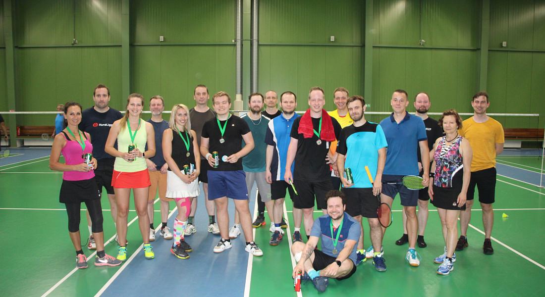 Badmintonový turnaj Brna 2021/2022 - 1