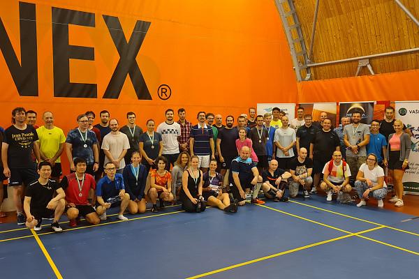 Nový start badmintonových turnajů v Praze