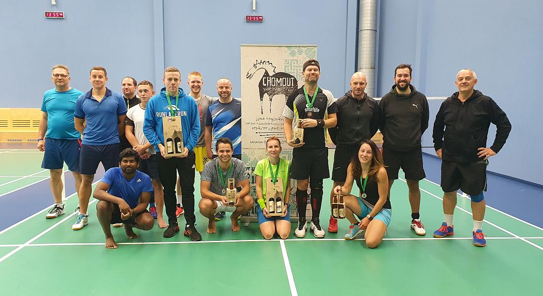 Badmintonový turnaj Olomouc - listopad