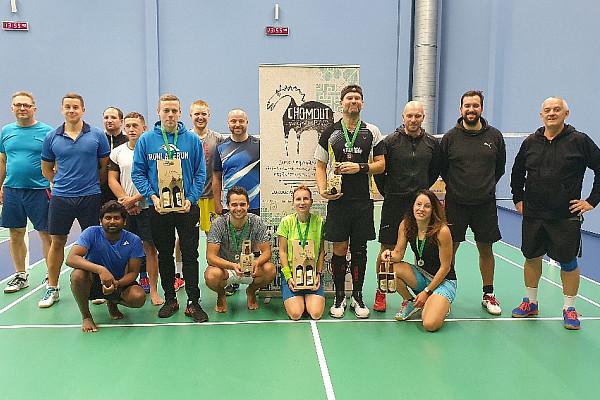 Badmintonový turnaj Olomouc - říjen