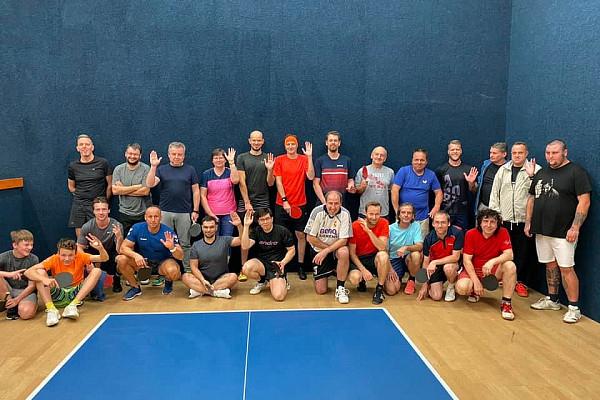 Pingpongový turnaj v Praze - Říjen 2/2 2021